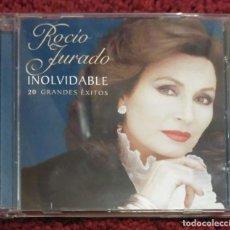 CDs de Música: ROCIO JURADO (INOLVIDABLE - 20 GRANDES EXITOS) CD 2006. Lote 128696283