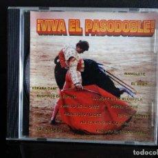 CDs de Música: VIVA EL PASO DOBLE .MANOLETE SUSPIRO DE ESPAÑA. Lote 128698127