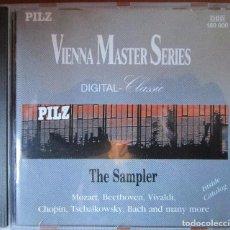 CDs de Música: VIENNA MASTER SERIES - THE SAMPLER - MOZART, BEETHOVEN, VIVALDI, CHOPIN, TSCHAIKOWSKY, BACH. CD . Lote 128699159
