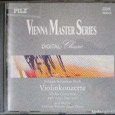 CDs de Música: VIENNA MASTEER SERIES - BACH - VIOLIN CONCERTOS - J. BREZINA & F. ELIAS (VIOLINES) CD . Lote 128699679