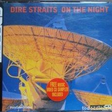 CDs de Música: DIRE STRAITS - ON THE NIGHT VIDEOCD - 3X VDC PAL. Lote 128703251
