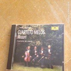 CDs de Música: CUARTETO MELOS / MOZART - CUARTETOS DE CUERDA -. Lote 128706104