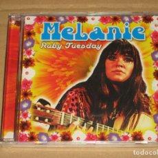 CDs de Música: (SIN ABRIR) MELANIE - RUBY TUESDAY. Lote 128706331