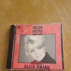 CDs de Música: ALICE AMARO. O MELHOR DOS MELHORES (CD). Lote 128706578