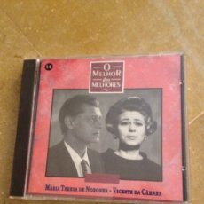 CDs de Música: MARÍA TERESA DE NORONHA / VICENTE DA CÁMARA. O MELHOR DOS MELHORES (CD). Lote 128706670