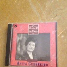 CDs de Música: ANITA GUERREIRO. O MELHOR DOS MELHORES (CD). Lote 128706796