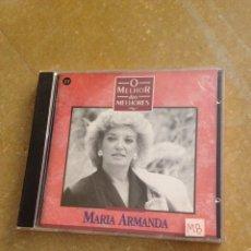 CDs de Música: MARIA ARMANDA. O MELHOR DOS MELHORES (CD). Lote 128707175