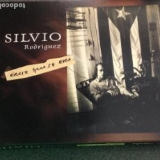 CDs de Música: SILVIO RODRÍGUEZ. ÉRASE QUE SE ERA. DOBLE CD EN DIGIPACK. Lote 128707251