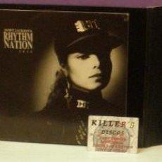CDs de Música: JANET JACKSON - RHYTHM NATION 1814 - BOX SET LIMITED EDITION CD + CASSETTE 1989. Lote 128718191