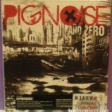 CDs de Música: PIGNOISE - AÑO ZERO - CD EN FUNDA DE CARTÓN. PRECINTADO. Lote 128718563