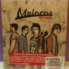CDs de Música: MELOCOS - 45RPM - CD EN FUNDA DE CARTÓN. PRECINTADO. Lote 128718715