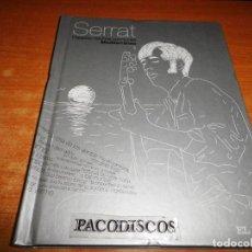 CDs de Música: JOAN MANUEL SERRAT MEDITERRANEO PALABRAS HECHAS CANCIONES EL PAIS Nº 1 CD LIBRO 2007 10 TEMAS. Lote 128726119