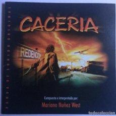 CDs de Música: CACERÍA / MARIANO NUÑEZ WEST CD BSO - PROMO. Lote 128749755