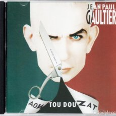 CDs de Música: JEAN PAUL GAULTIER – AOW TOU DOU ZAT (ALBUM REMIX). Lote 128766755