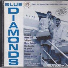 CDs de Música: THE BLUE DIAMONDS CANTAN EN ESPAÑOL CD RARO . Lote 128771067