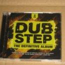 CDs de Música: (SIN ABRIR) VARIOS - DUBSTEP THE DEFINITIVE ALBUM _ 2CD. Lote 128777839