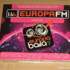 CDs de Música: (SIN ABRIR) EUROPA FM - EUROPA BAILA VOL. 3 __ 2CD. Lote 128778439