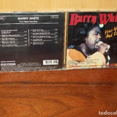 CDs de Música: BARRY WHITE - YOUR HEART AND SOUL - CD . Lote 128778531