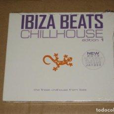 CDs de Música: (SIN ABRIR) IBIZA BEATS - CHILLHOUSE EDITION 1 __ (SLIM DIGIPACK). Lote 128779335