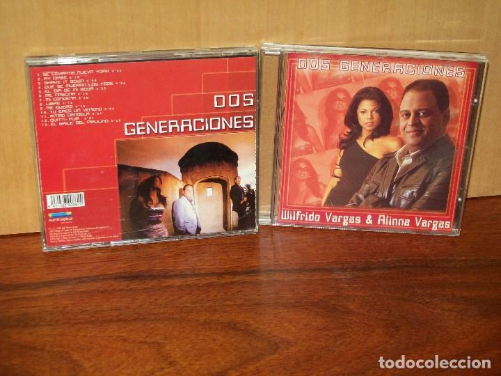 WILFRIDO VARGAS & ALINNA VARGAS - DOS GENERACIONES - CD (Música - CD's Latina)