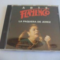 CDs de Música: ARTE FLAMENCO. LA PAQUERA DE JEREZ ORBIS FABBRI. 1994. CD. Lote 158625626