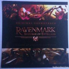CDs de Música: RAVENMARK: SCOURGE OF ESTELLION / JOSH WHELCHEL CD BSO - PROMO. Lote 128832131