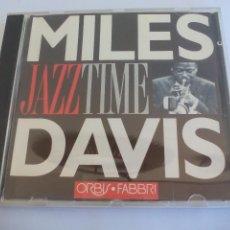 CDs de Música: MILE DAVIS JAZZ TIME.. JAZZTIME. ORBIS FABBRI 1992 CD. Lote 128839599