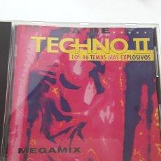 CDs de Música: VA DE TECHNO II / LOS 46 TEMAS MÁS EXPLOSIVOS. Lote 128849804