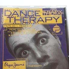 CDs de Música: DANCE THERAPY PEPE MEGA MIX. Lote 128851522