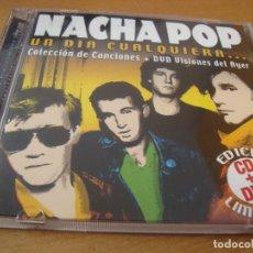 CDs de Música: RAR CD & DVD. NACHA POP. UN DIA CUALQUIERA...EDICIÓN LIMITADA. Lote 128867159