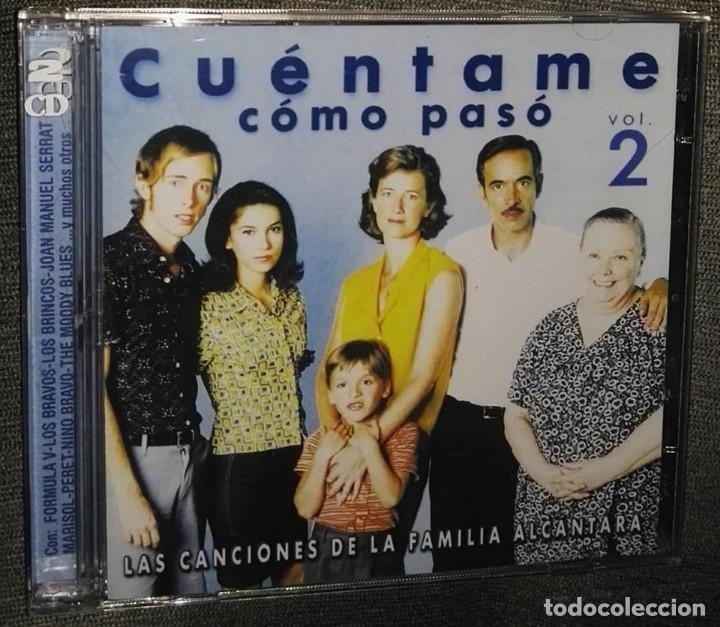 CUENTAME COMO PASÓ VOL 2 LOS BRAVOS BRINCOS FORMULA V LLOPIS 2 CD (Música - CD's Bandas Sonoras)
