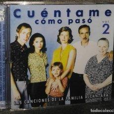 CDs de Música: CUENTAME COMO PASÓ VOL 2 LOS BRAVOS BRINCOS FORMULA V LLOPIS 2 CD. Lote 128869555