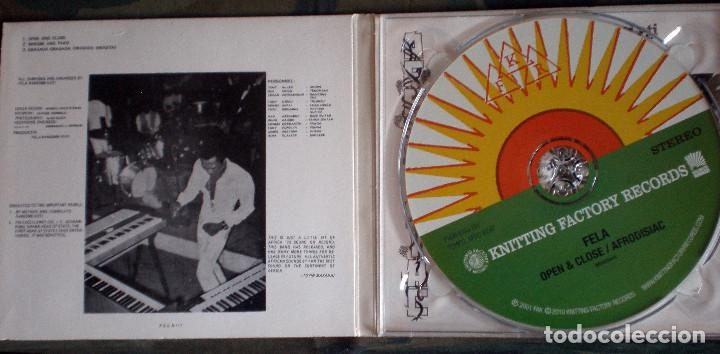 Fela Ransome Kuti & The Africa 70 – Open & Close / Afrodisiac CD  Remastered, Digipack Afrobeat