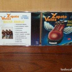 CDs de Música: ZAPATO VELOZ - TRACTOR AMARILLO - CD . Lote 128916263