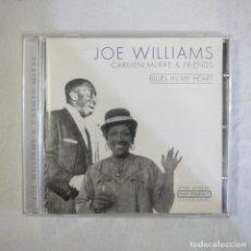 CDs de Música: JOE WILLIAMS / CARMEN MCRAE & FRIENDS - BLUES IN MY HEART - CD 2001 . Lote 128916679