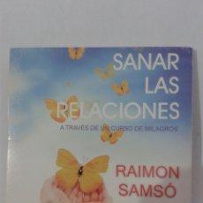 CDs de Música: SANAR LAS RELACIONES RAIMON SAMSO CD. Lote 128920156