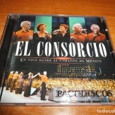 CDs de Música: EL CONSORCIO EN VIVO DESDE EL CORAZON DE MEXICO CD ALBUM DEL AÑO 2003 MOCEDADES SERGIO Y ESTIBALIZ . Lote 128927995