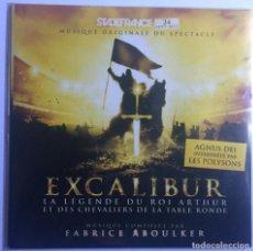 CDs de Música: EXCALIBUR / FABRICE ABOULKER CD BSO - PROMO CARDSLEEVE. Lote 128937395