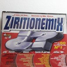 CDs de Música: ZIRITIONEMIX / 4 CD'S AÑO 1999. Lote 128950823