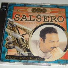 CDs de Música: 2CD - GILBERTO SANTA ROSA - ORO SALSERO - MADE IN USA - GILBERTO SANTA ROSA. Lote 128963351