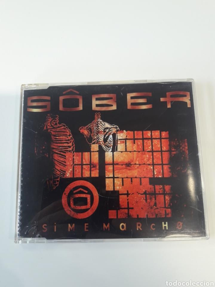 SÔBER - SI ME MARCHO CD MAXI (Música - CD's Heavy Metal)