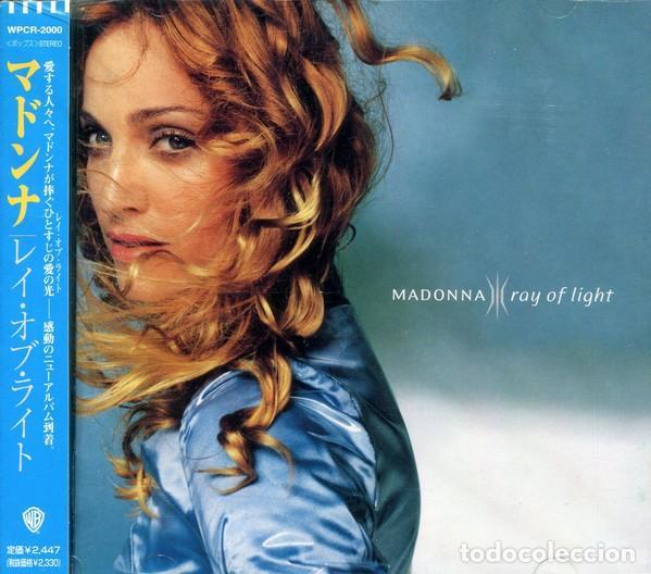 PROMO JAPON MADONNA - RAY OF LIGHT - CD BONUS TRACK (Música - CD's Pop)
