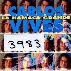 CDs de Música: CARLOS VIVES / LA HAMACA GRANDE (CD SINGLE CARTON PROMO 1993) . Lote 129024931