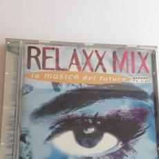 CDs de Música: RELAXX MIX , LA MÚSICA DEL FUTURO. Lote 129055547