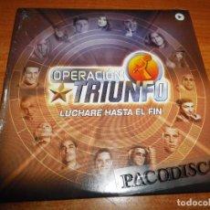 CDs de Música: OPERACION TRIUNFO I LUCHARE HASTA EL FIN CD SINGLE PROMO PRECINTADO DAVID BISBAL DAVID BUSTAMANTE. Lote 152384588