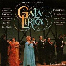 CDs de Música: DESDE SEVILLA, GALA LÍRICA EXPO-92 - CABALLÉ, DOMINGO, CARRERAS... - CD 16 TRACKS, BMG / ARIOLA 1991. Lote 129097967
