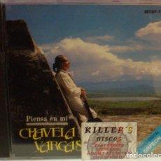 CDs de Música: CHAVELA VARGAS - PIENSA EN MÍ - CD. Lote 129138455