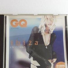 CDs de Música: GQ IBIZA CHILLOUT / PRODUCIDO POR GUY CHAMBERS / AÑO 2001. Lote 129149382