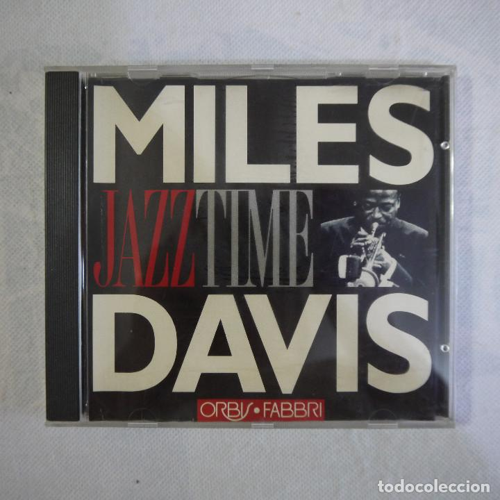 MILLES DAVIS - JAZZ TIME - CD (Música - CD's Jazz, Blues, Soul y Gospel)