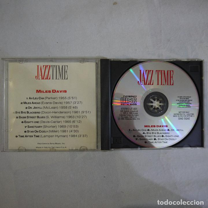 CDs de Música: MILLES DAVIS - JAZZ TIME - CD - Foto 2 - 129167451